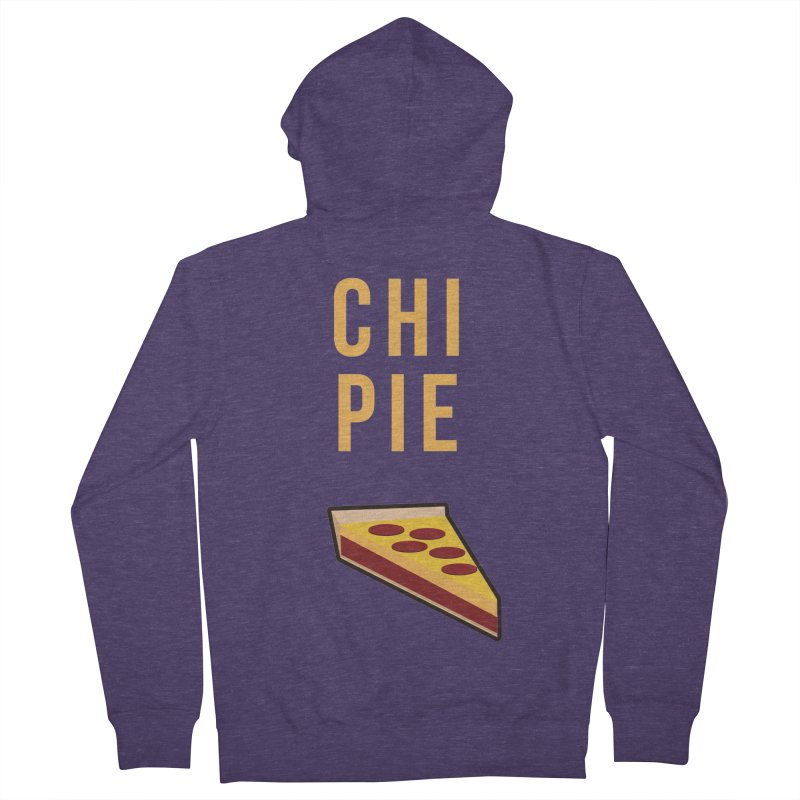 CHI PIE Men's French Terry Zip-Up Hoody by Tristan Young