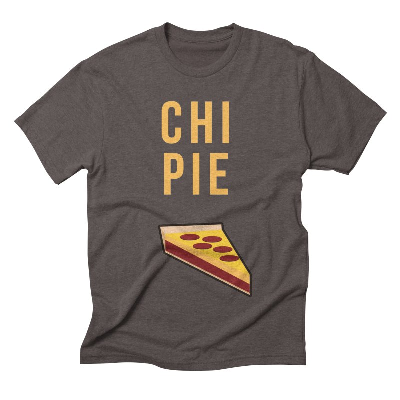 CHI PIE Men's Triblend T-Shirt by Tristan Young