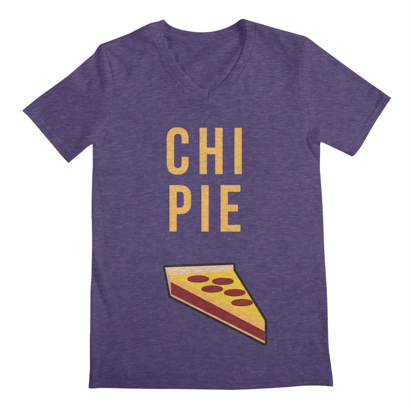 CHI PIE Men's V-Neck by Tristan Young