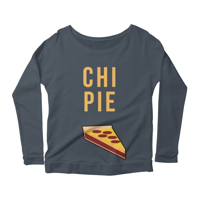 CHI PIE Women's Longsleeve Scoopneck  by Tristan Young