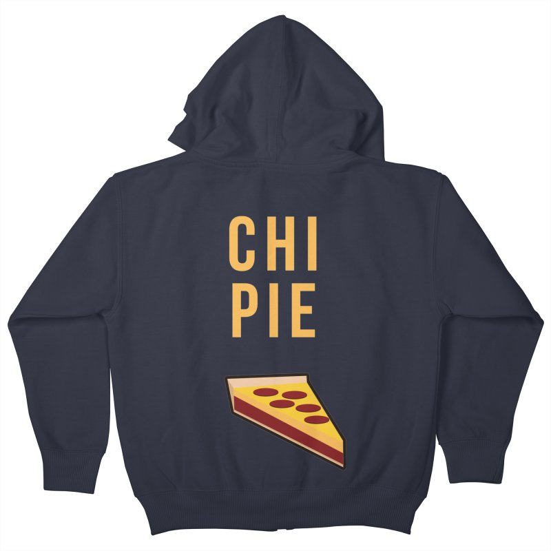 CHI PIE Kids Zip-Up Hoody by Tristan Young