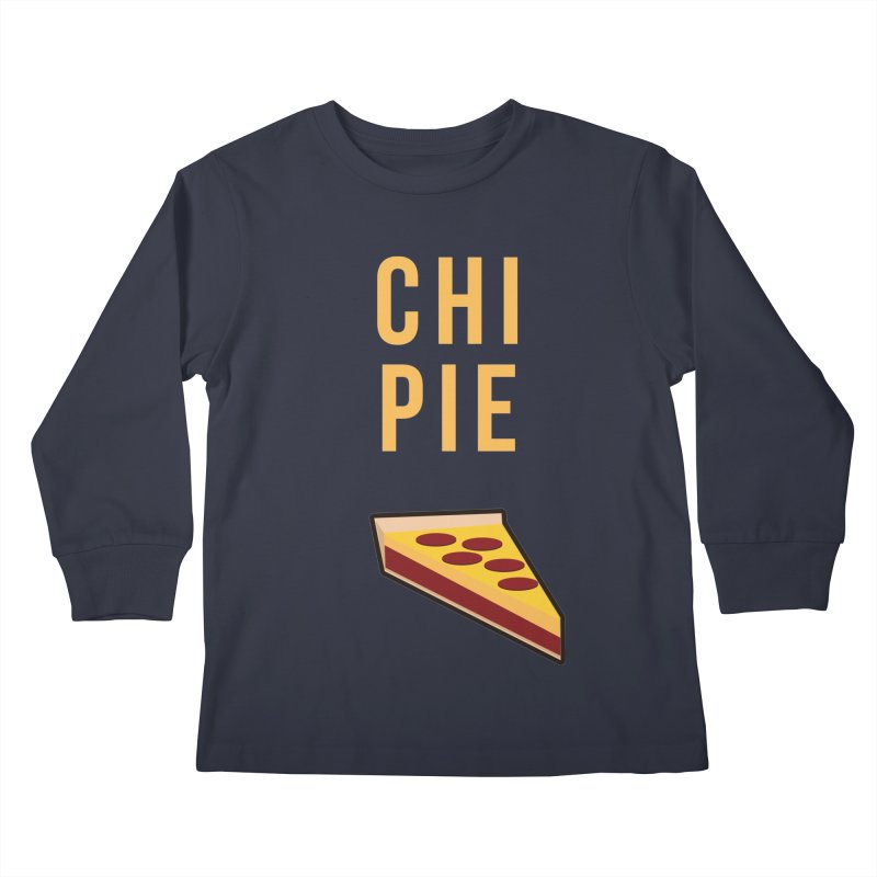 CHI PIE Kids Longsleeve T-Shirt by Tristan Young
