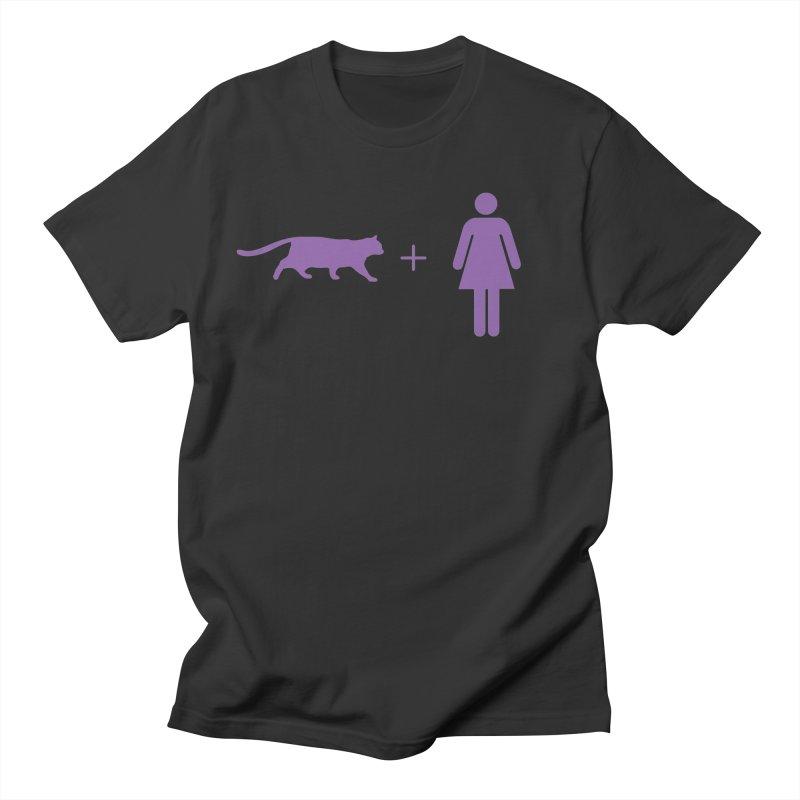 CAT WOMAN Women's Regular Unisex T-Shirt by Tristan Young