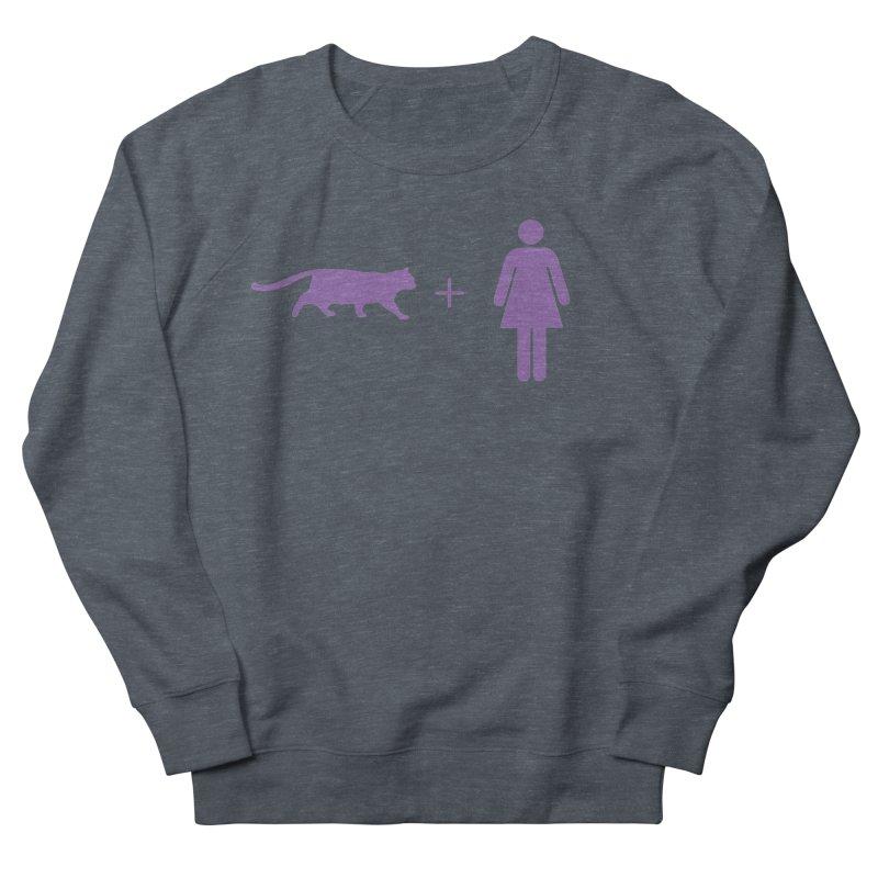 CAT WOMAN Women's Sweatshirt by Tristan Young