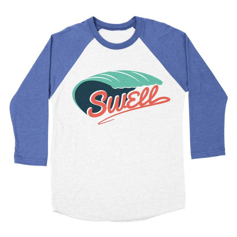 SWELL Women's Baseball Triblend T-Shirt by Tristan Young