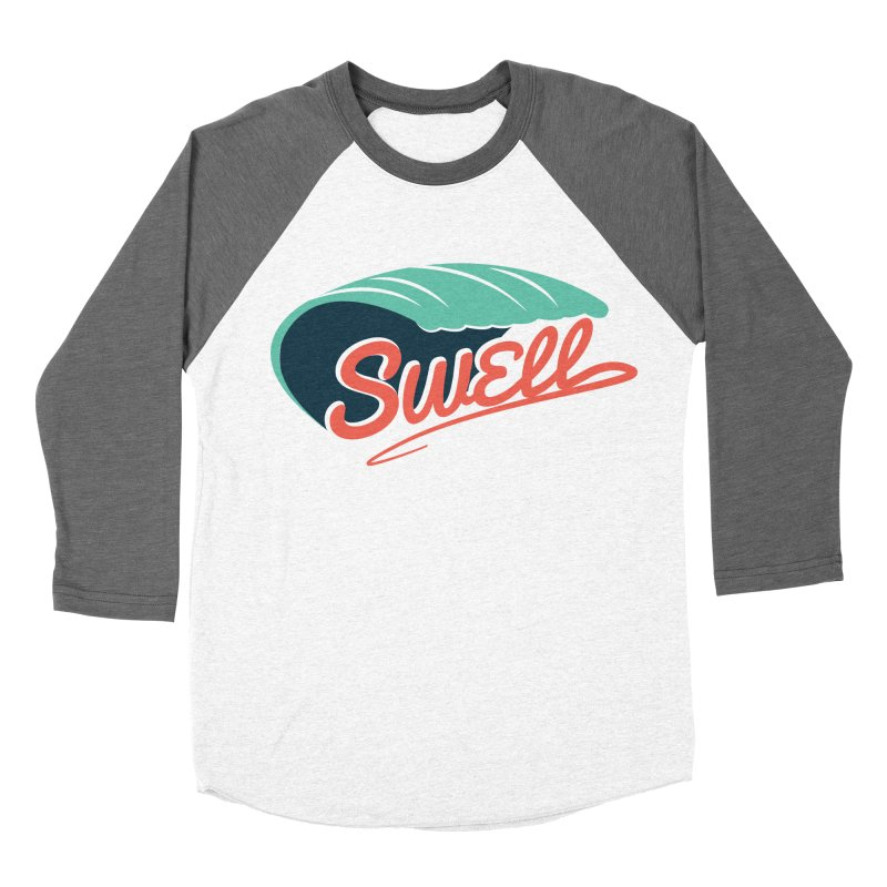 SWELL Women's Baseball Triblend Longsleeve T-Shirt by Tristan Young