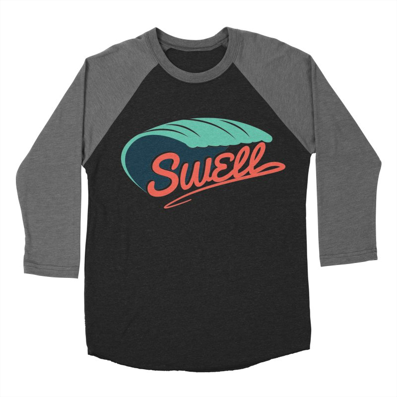 SWELL Men's Baseball Triblend T-Shirt by Tristan Young