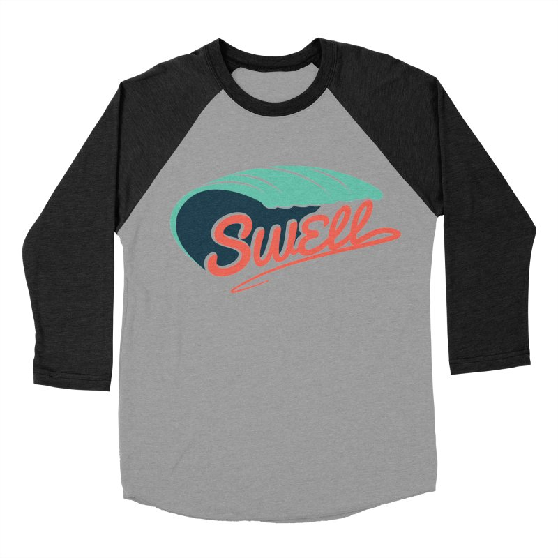 SWELL Men's Baseball Triblend Longsleeve T-Shirt by Tristan Young