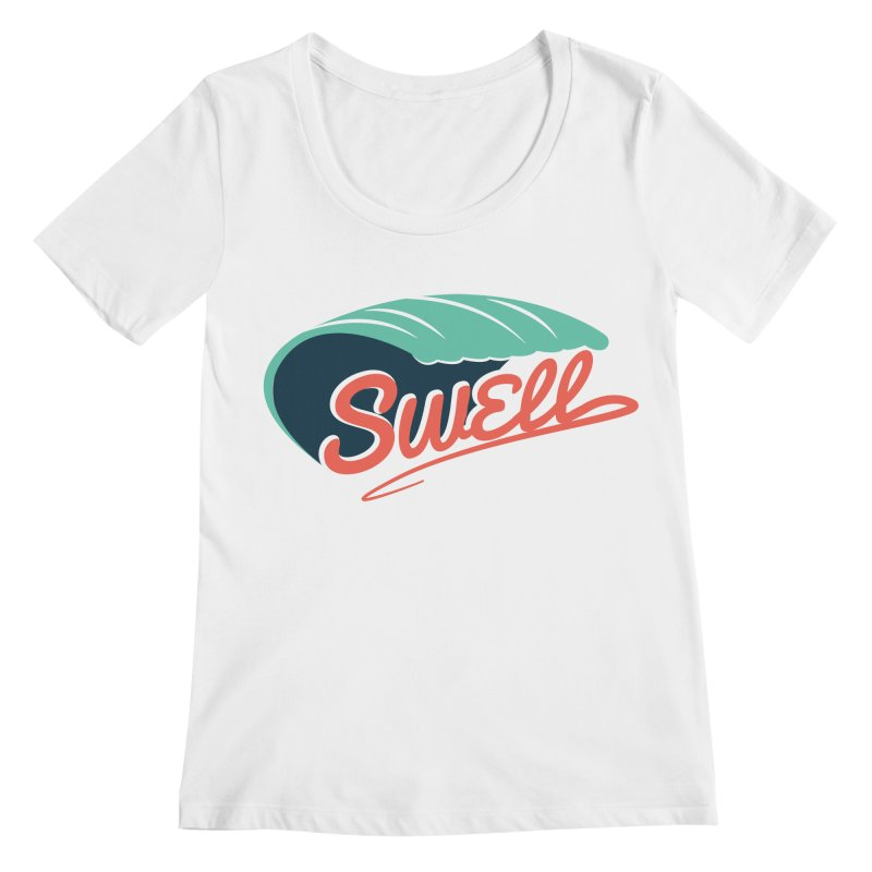 SWELL Women's Regular Scoop Neck by Tristan Young