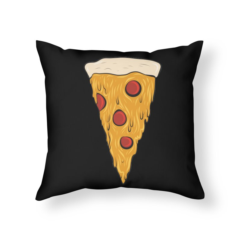 PIZZA SLICE Home Throw Pillow by Tristan Young