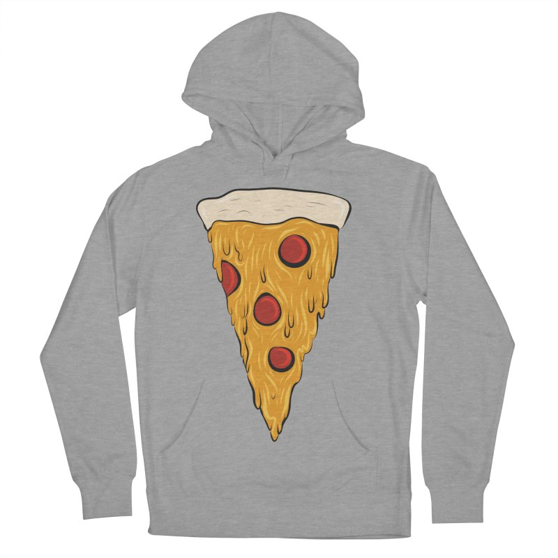 PIZZA SLICE Women's French Terry Pullover Hoody by Tristan Young