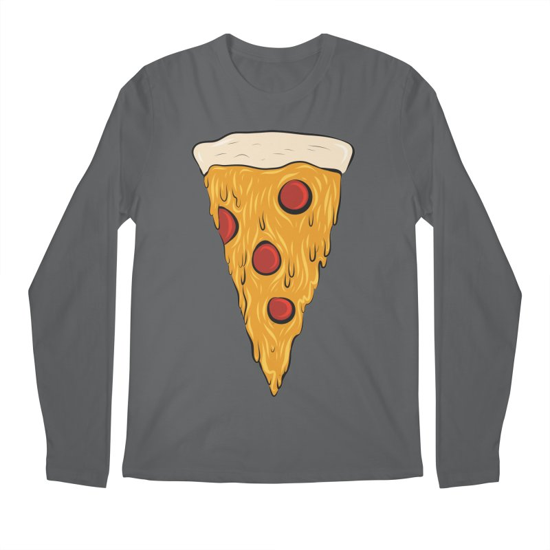 PIZZA SLICE Men's Longsleeve T-Shirt by Tristan Young