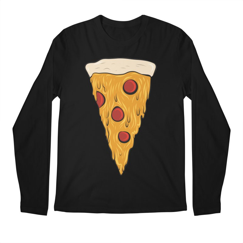 PIZZA SLICE Men's Regular Longsleeve T-Shirt by Tristan Young