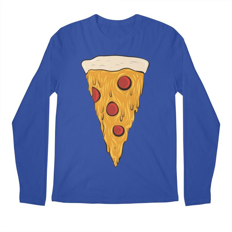 PIZZA SLICE Men's Regular Longsleeve T-Shirt by Tristan Young