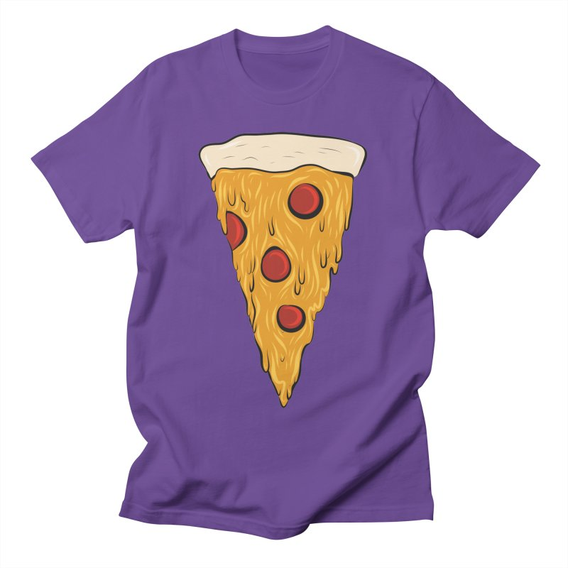 PIZZA SLICE Women's Regular Unisex T-Shirt by Tristan Young