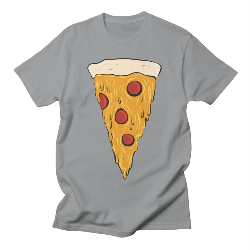 PIZZA SLICE Men's Regular T-Shirt by Tristan Young