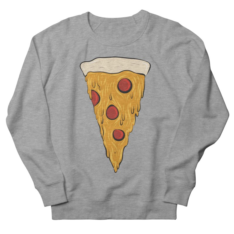 PIZZA SLICE Women's French Terry Sweatshirt by Tristan Young
