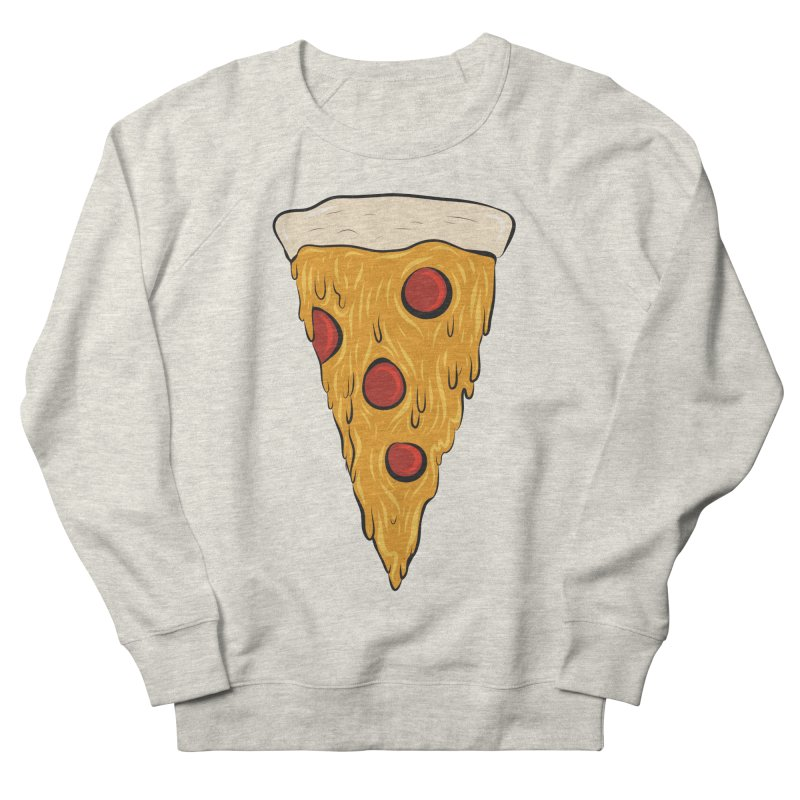 PIZZA SLICE Men's French Terry Sweatshirt by Tristan Young