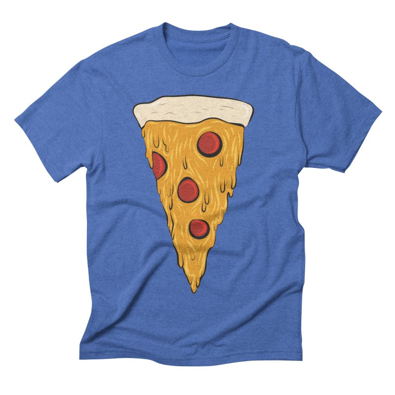 PIZZA SLICE Men's Triblend T-Shirt by Tristan Young