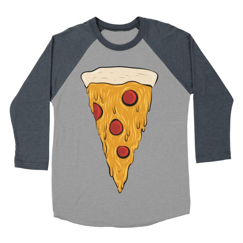 PIZZA SLICE Women's Baseball Triblend T-Shirt by Tristan Young