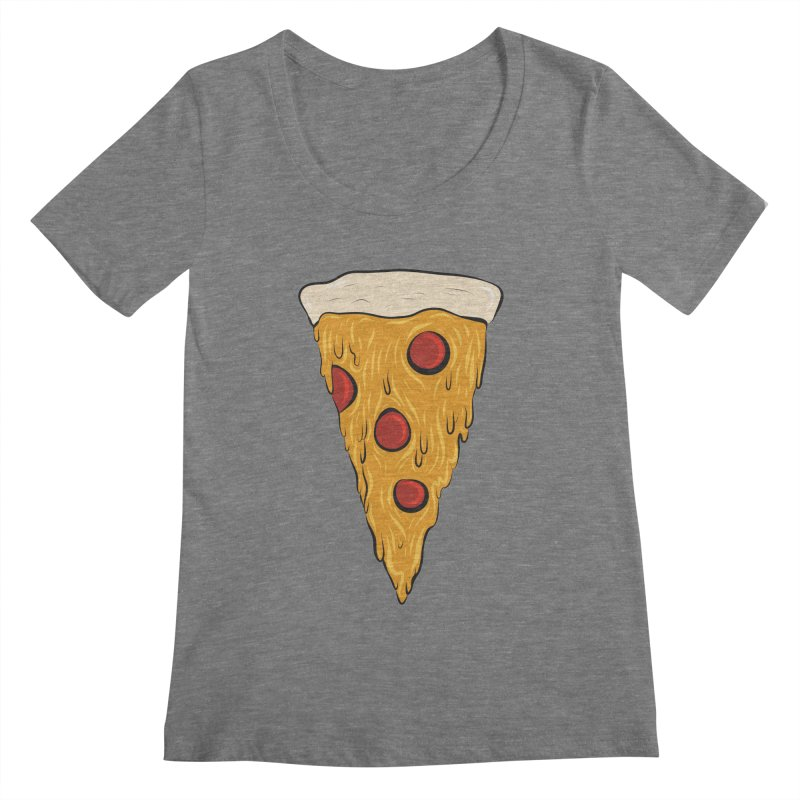 PIZZA SLICE Women's Scoopneck by Tristan Young
