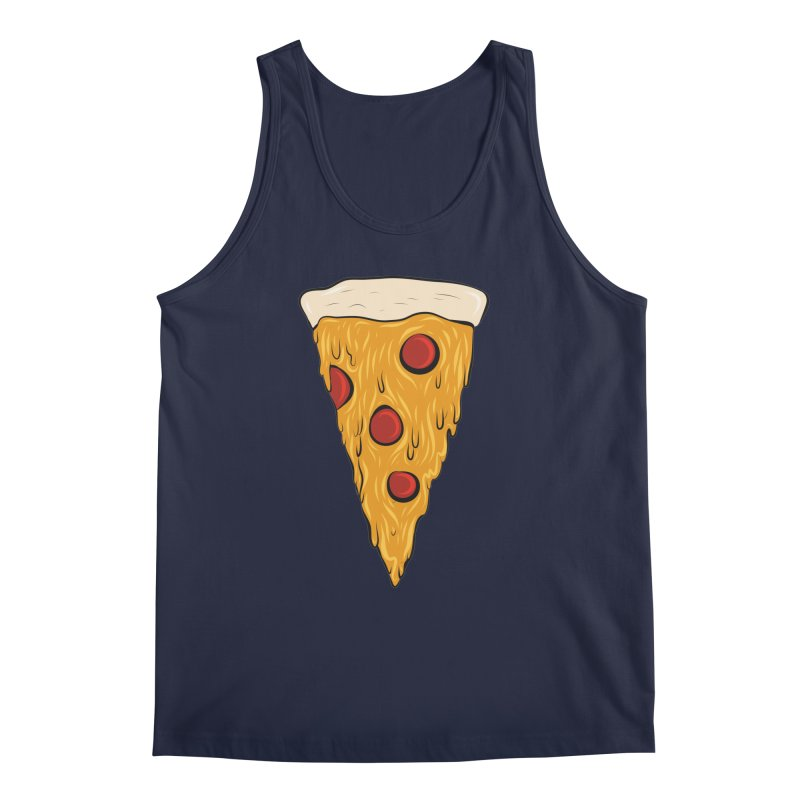 PIZZA SLICE Men's Regular Tank by Tristan Young