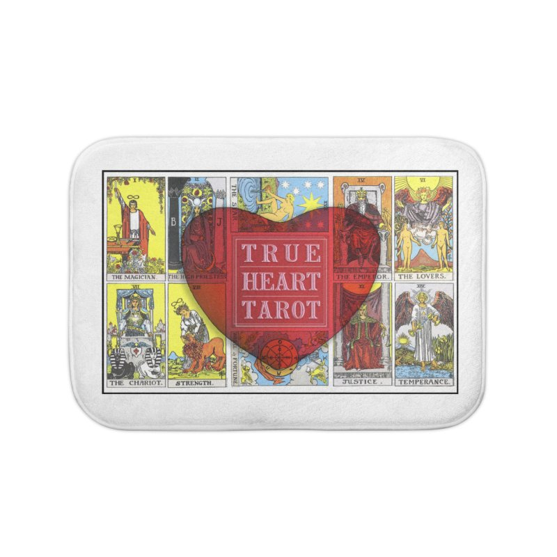 True Heart Tarot in Bath Mat by True Heart by Rachel True