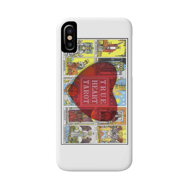 True Heart Tarot in iPhone X / XS Phone Case Slim by True Heart by Rachel True