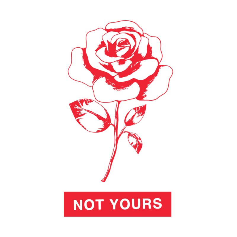 Not Yours Accessories Bag by Tumblr Creatrs