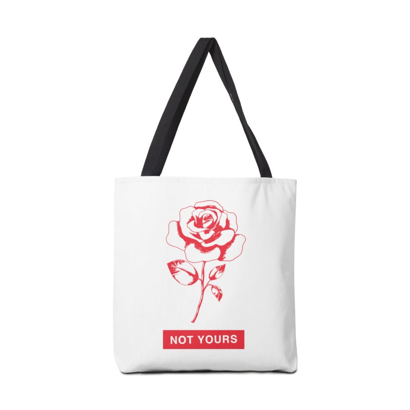 Not Yours in Tote Bag by Tumblr Creatrs