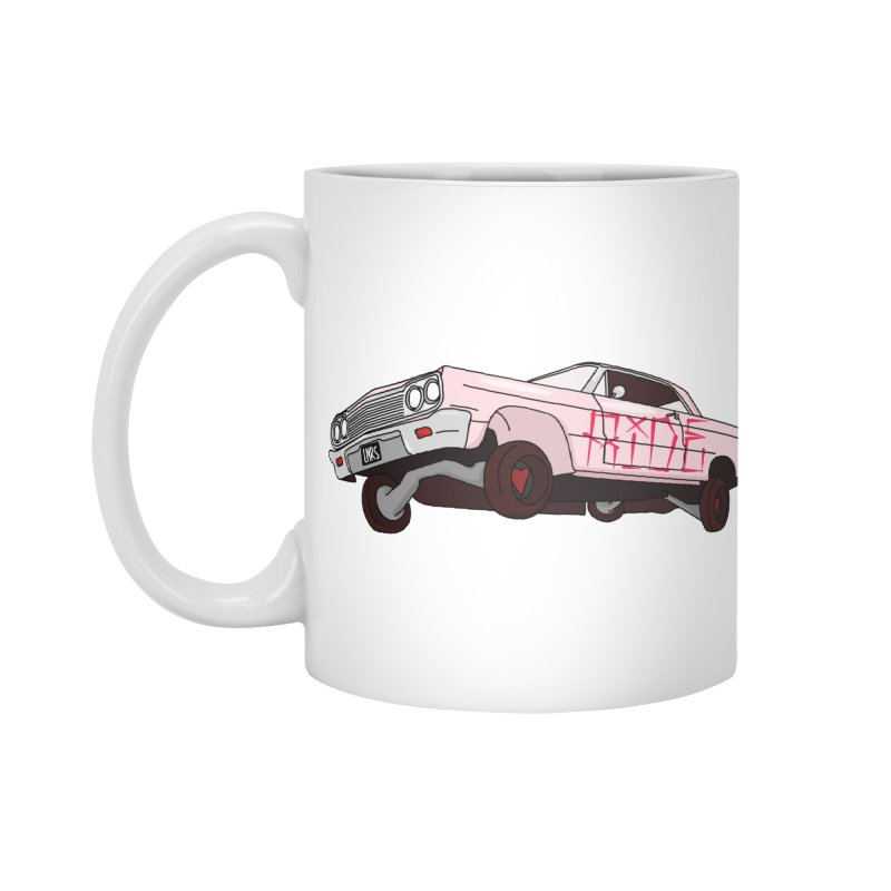Ride in Standard Mug White by Tumblr Creatrs
