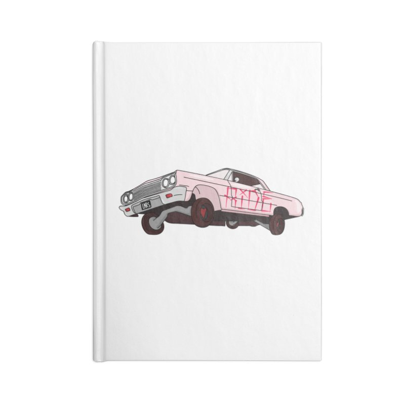 Ride Accessories Notebook by Tumblr Creatrs