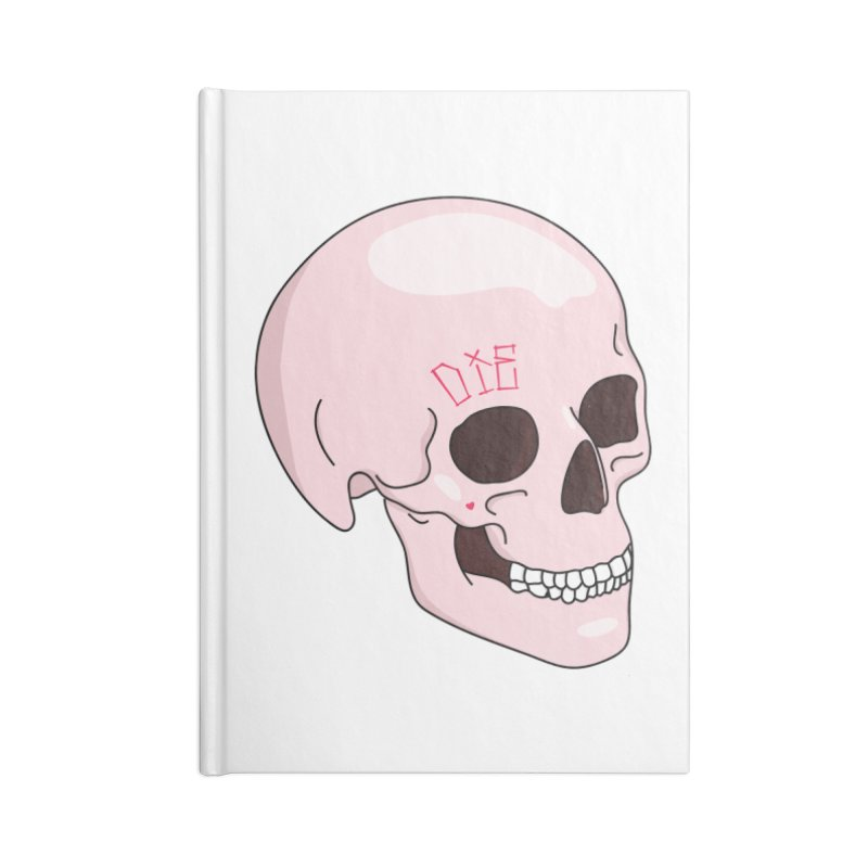 Die Accessories Lined Journal Notebook by Tumblr Creatrs