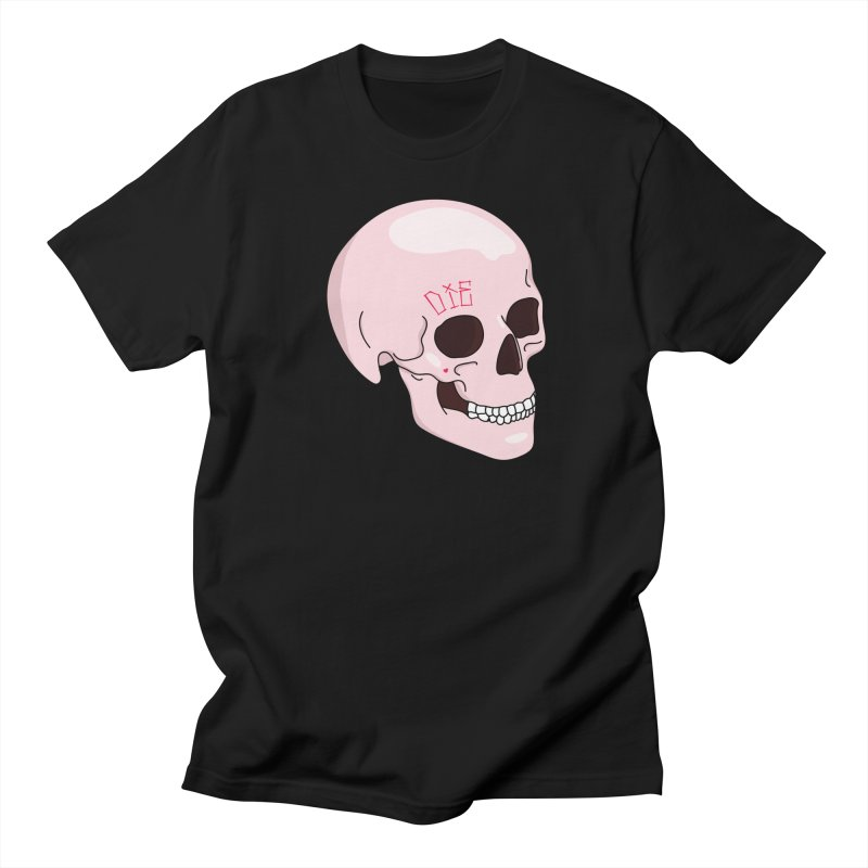 Die in Men's Regular T-Shirt Black by Tumblr Creatrs