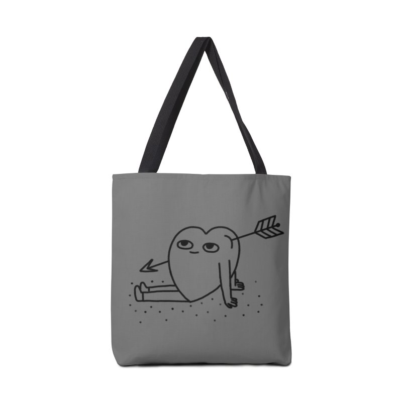 Heart w/ Arrow in Tote Bag by Tumblr Creatrs