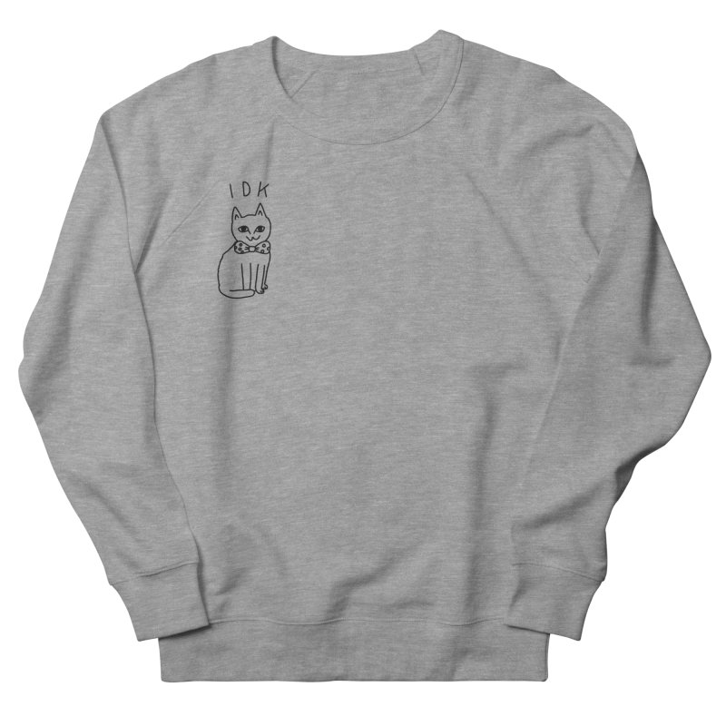 IDK Cat Men's Sweatshirt by Tumblr Creatrs