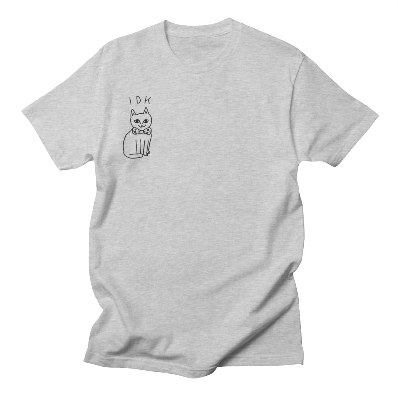 IDK Cat Men's Regular T-Shirt by Tumblr Creatrs