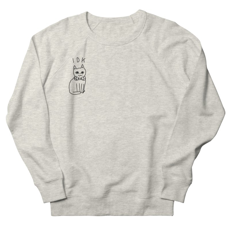 IDK Cat Men's French Terry Sweatshirt by Tumblr Creatrs