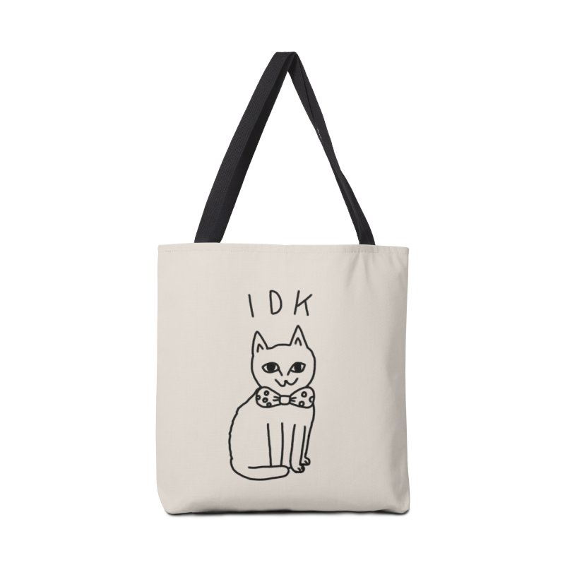 IDK Cat in Tote Bag by Tumblr Creatrs