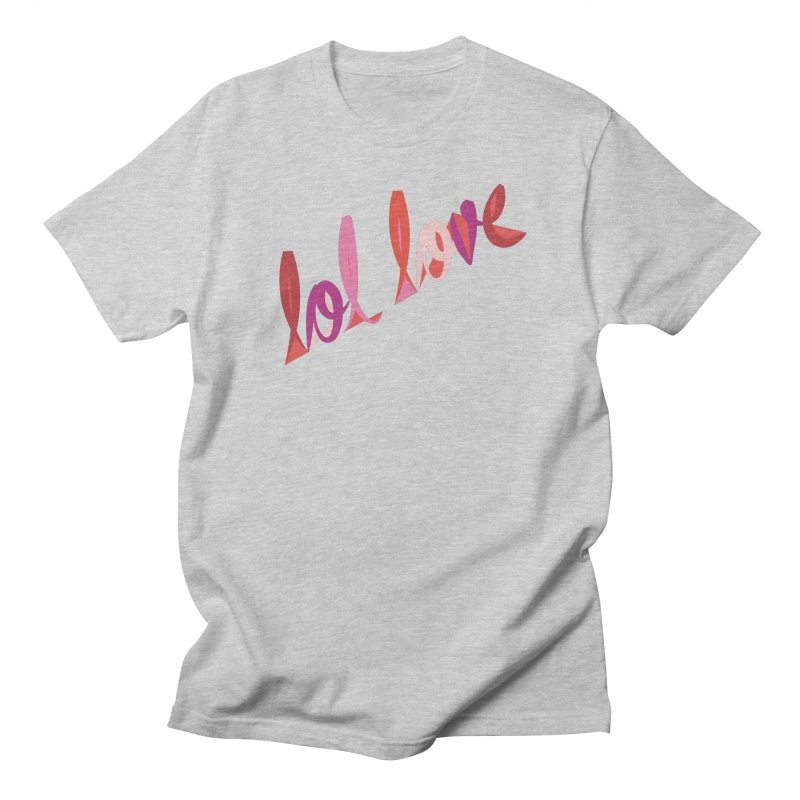 LOL Love Men's Regular T-Shirt by Tumblr Creatrs
