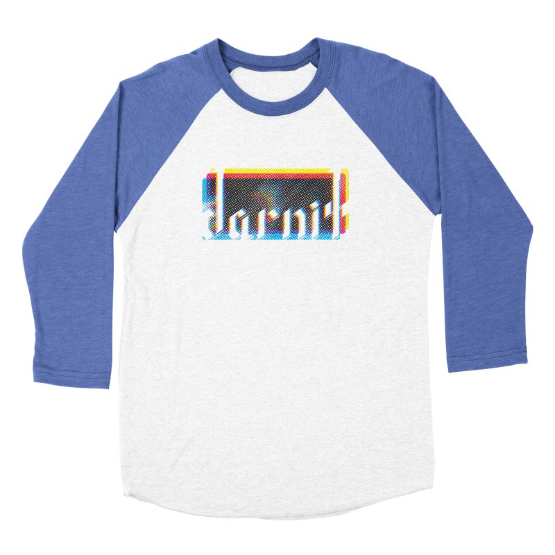 darnit - Curse Calligraphy Men's Baseball Triblend T-Shirt by HappyGhost's Shop