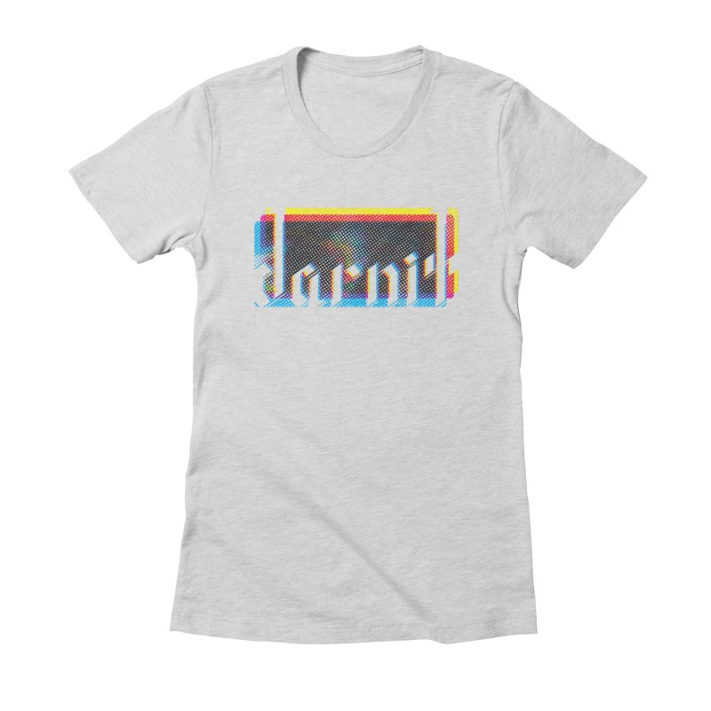 darnit - Curse Calligraphy Women's Fitted T-Shirt by HappyGhost's Shop