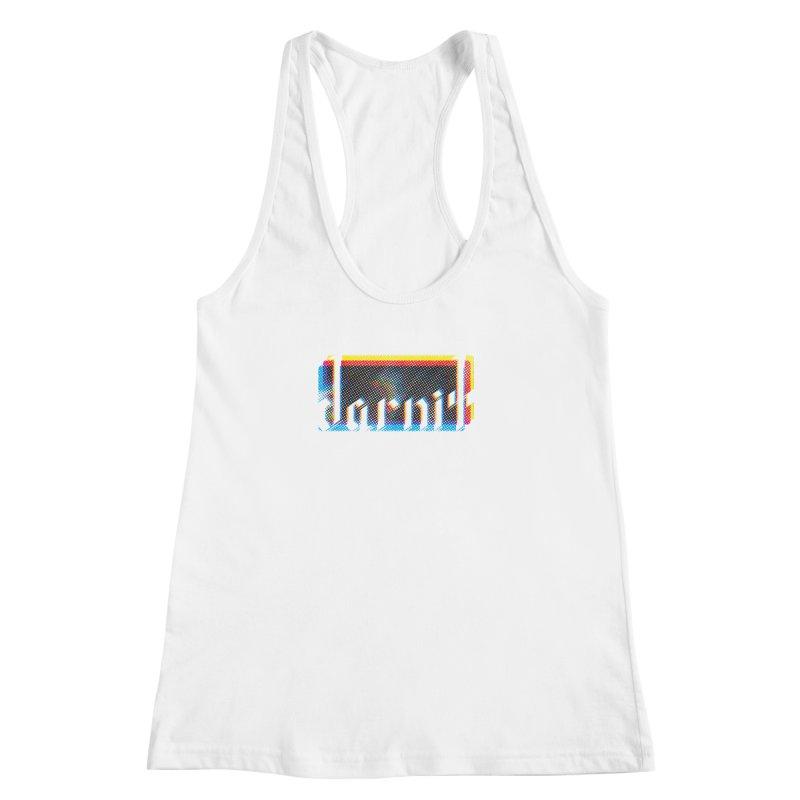 darnit - Curse Calligraphy Women's Racerback Tank by HappyGhost's Shop
