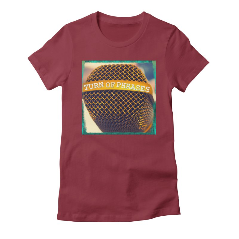 Logo swag Women's Fitted T-Shirt by TurnOfPhrases's Artist Shop