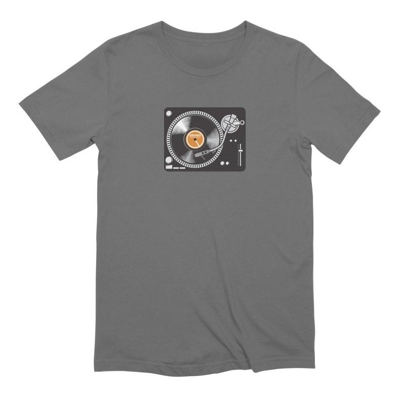 Eleven Turntable Men's T-Shirt by TurnUpToEleven's Artist Shop