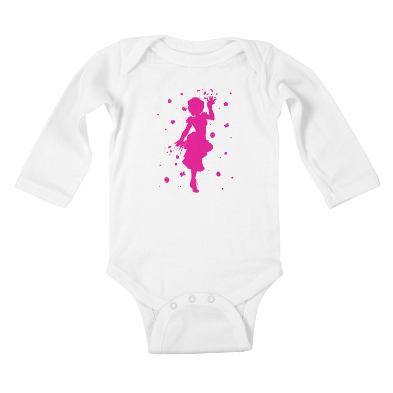 Spring Power Kids Baby Longsleeve Bodysuit by TurningTideStudio's Artist Shop