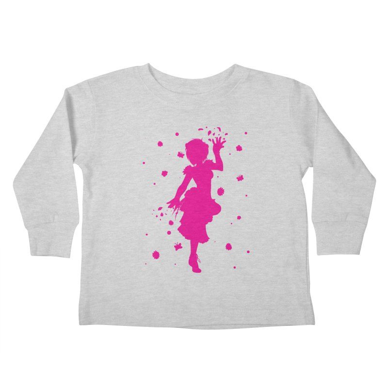 Spring Power Kids Toddler Longsleeve T-Shirt by TurningTideStudio's Artist Shop