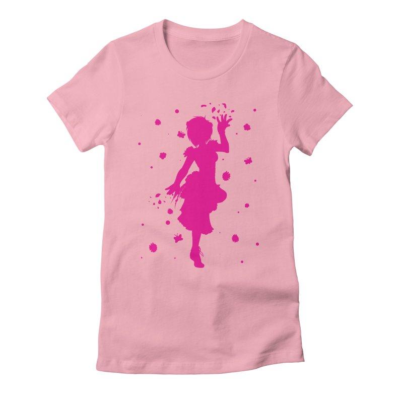 Spring Power Women's Fitted T-Shirt by TurningTideStudio's Artist Shop