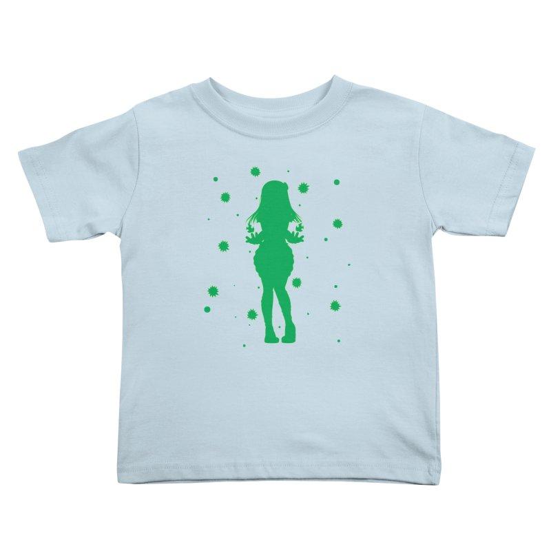 Summer Power Kids Toddler T-Shirt by TurningTideStudio's Artist Shop