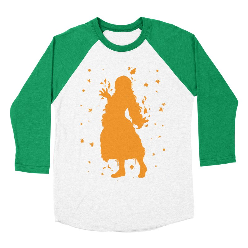 Autumn Power Women's Baseball Triblend T-Shirt by TurningTideStudio's Artist Shop